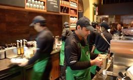 Starbucks Pushes Plan to Hire 100,000 Young Workers