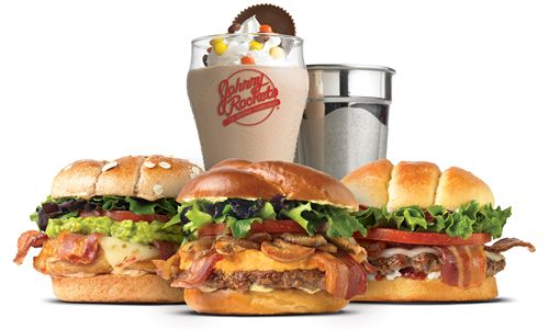 Consumers Choose Johnny Rockets New International Burgers