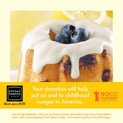 Dine Out at Corner Bakery Cafe in September to Help End Childhood Hunger