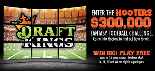 Hooters Teams Up with DraftKings and Jon Gruden to Kick Off the $300,000 Hooters Fantasy Football Challenge
