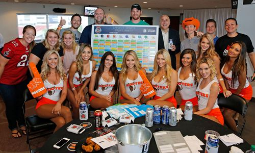 Hooters Takes Over Raymond James Stadium to Kick Off Fantasy Football Season