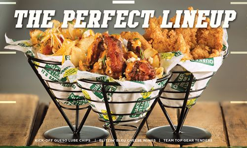 Quaker Steak & Lube Introduces New Lineup Of Game Day-Inspired Menu Items