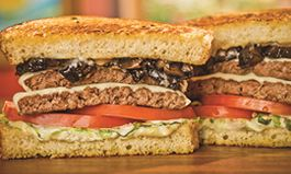 The Habit Burger Grill Debuts Roasted Garlic Portabella Double Charburger