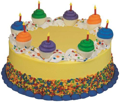 Baskin-Robbins Mini Cupcake Birthday Cake