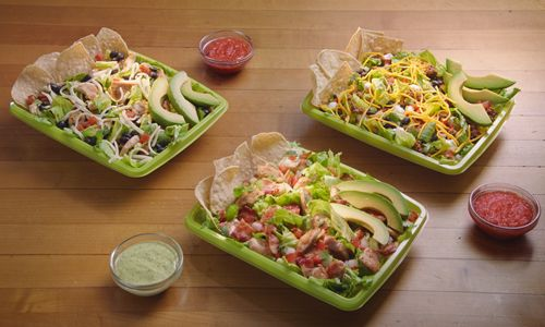 Del Taco Handcrafts New Ensaladas in House