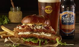 Hard Rock Cafe Raises A Stein To New OctoberFest Burger