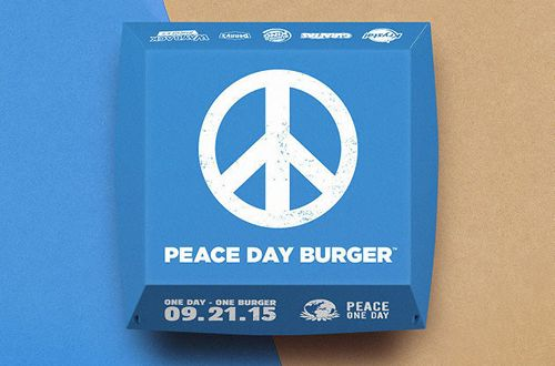 Krystal Leverages Little Burgers for Big World Peace Movement