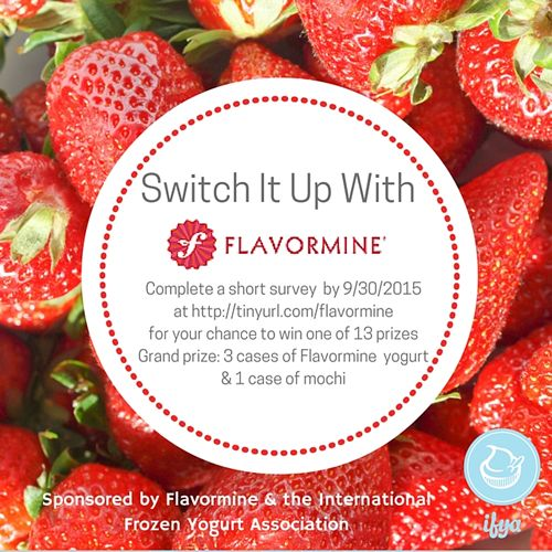 New Contest from the IFYA and Flavormine Encourages Froyo Shops to Switch It Up With Flavormine