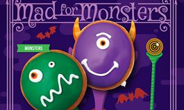 New Monster Doughnuts a Scary Addition To Krispy Kreme's Lineup of Halloween Treats