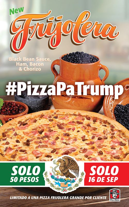 Pizza Patrón Presents #PizzaPaTrump