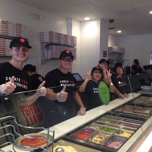 "Pizza Studio's Alhambra Grand Opening: ""Masterpizzas"" and Fun for All"