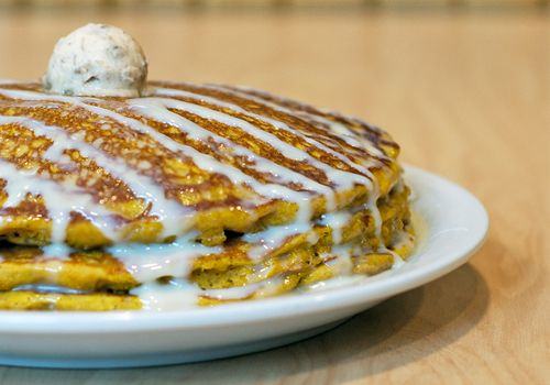 Pumpkin Pancakes Return to Sunny Street Café