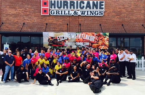 Hurricane Grill & Wings Opens First Louisiana Restaurant