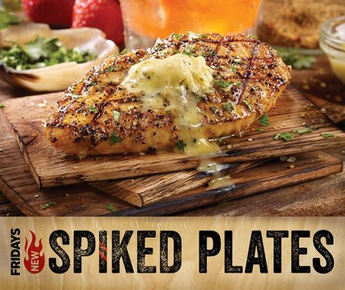 TGI Fridays Chefs Raid the Bar to Create New Spiked Plates