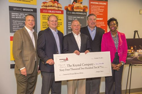 The Krystal Company Implements Energy Saving Program at Restaurants