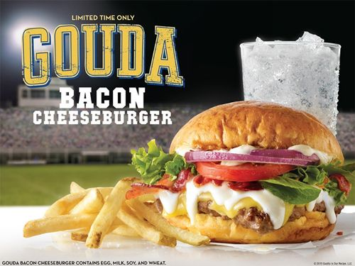 Cheese Scores Big in Wendy's New Gouda Bacon Cheeseburger and Bacon Fondue Fries