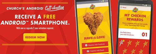 Church's Chicken Helps Fans Stay Connected Over the Holidays with an Android Smartphone Offer