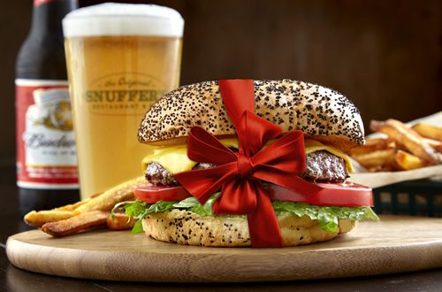 Snuffer's Plays Santa, Makes Stocking Stuffing Easy