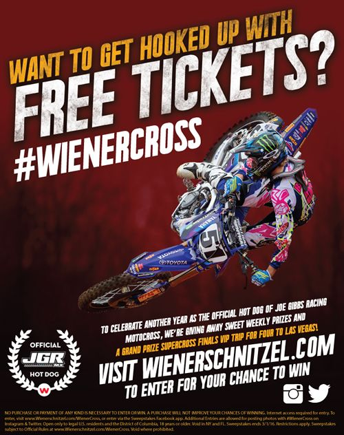 Wienerschnitzel Announces Second Annual #Wienercross Sweepstakes