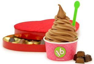 16 Handles Celebrates National Frozen Yogurt Day with FREE FROYO!