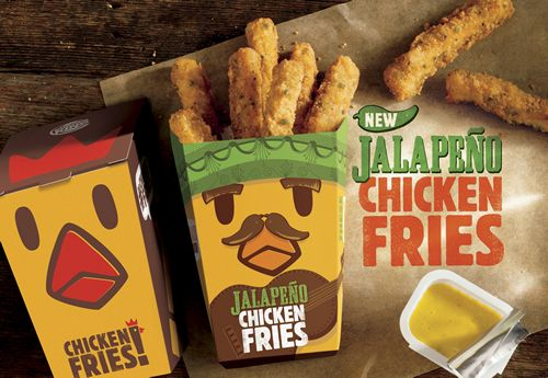 BURGER KING Restaurants Introduce New Jalapeño Chicken Fries and Two New Shake Flavors