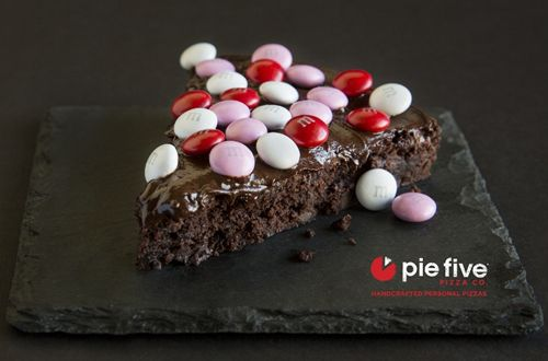 Forget Cupid's Arrow! Pie Five Proclaims Nothing Says Love like Cupid's Brownie