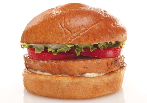 Back Yard Burgers Introduces New Grilled Salmon Burger