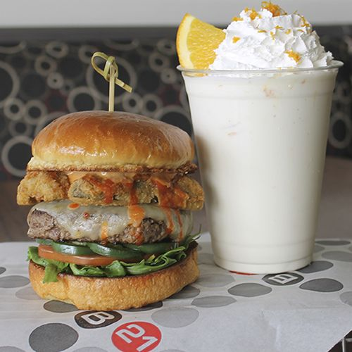 Burger 21 Turns Up The Heat With The Launch Of Its Spicy Cow Burger And Sundrop Shake