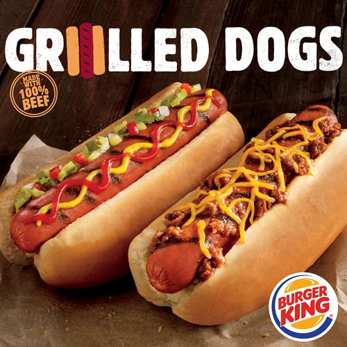 BURGER KING Restaurants to Become Largest Restaurant Chain in U.S. to Serve Flame-Grilled Hot Dogs