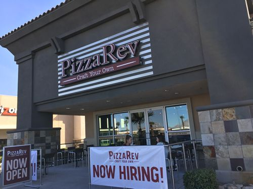 PizzaRev Opens First Las Vegas Restaurant Today