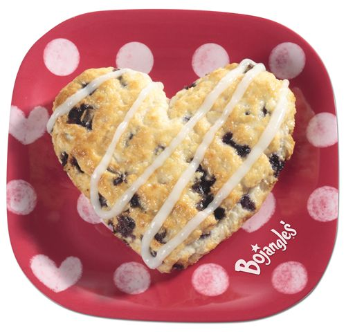 Show Your Sweetie Some Bojangles' Love with Heart-Shaped Bo-Berry Biscuits