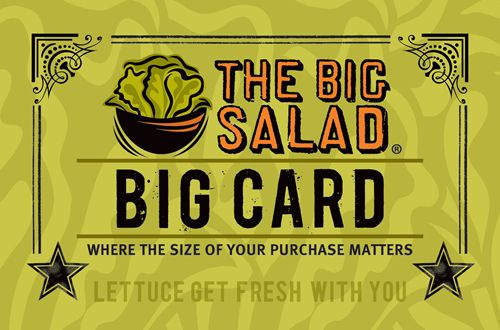 The Big Salad Launches New Loyalty Rewards Program