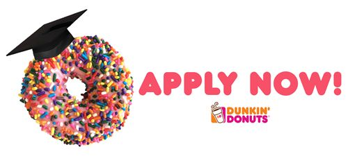 Applications Now Open for 2016 Dunkin' Donuts South / Southwest Florida Scholarship Program