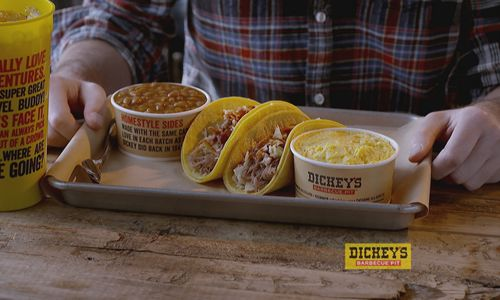 Dickey's Barbecue Pit Launches New Limited Time Offer Featuring Pulled Pork Street Tacos