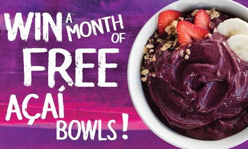 Juice It Up! and Sambazon Team Up to Celebrate April Açaí Awareness Month