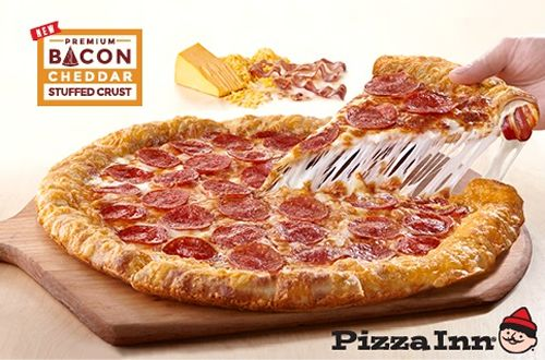 Pizza Inn is Bringing Home the Bacon with the New Bacon Cheddar Stuffed Crust Pizza