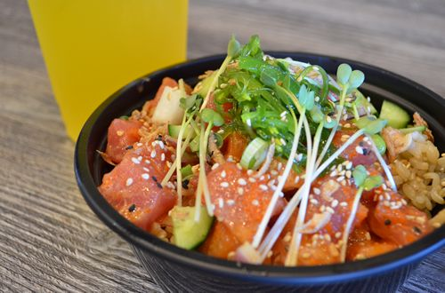 Poke Bowl Craze Sweeping California Hits Scottsdale, Arizona