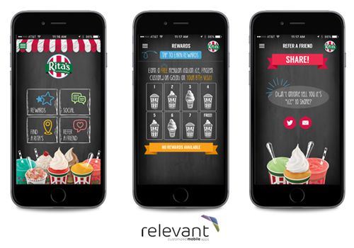Rita's Italian Ice Releases Updated Mobile App