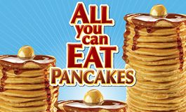National Pancake Day Should Be Every Day: Steak 'n Shake Offers $3.99 All You Can Eat Pancakes Throughout 2016