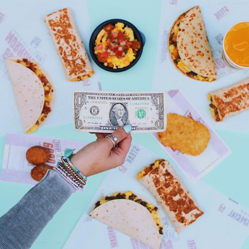 Taco Bell Reveals American Consumers Would Rather Pay $1 vs. More Than $1**