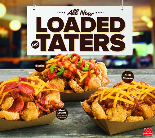 Wienerschnitzel Piles It On with New Loaded Po'Taters