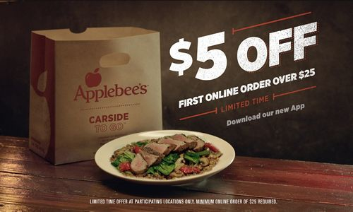Applebee's Revamps Mobile App for Online Ordering and Carside To-Go