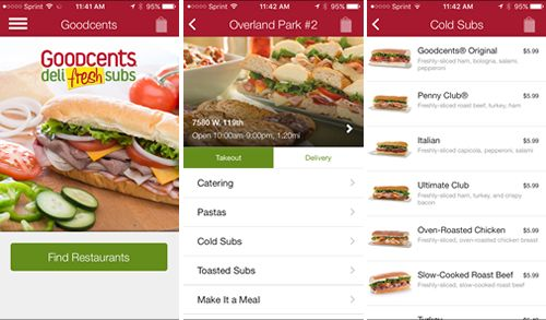 Goodcents Introduces New Mobile App for Remote Ordering