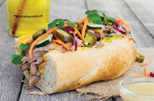 McAlister's Deli Brings Coastal Flavors to Menu With New West Coast Banh Mì