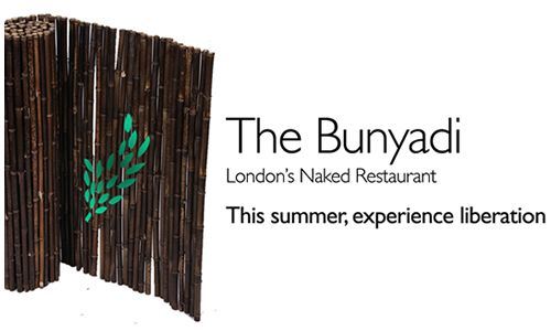 The Bunyadi - London's First Naked Food Experience