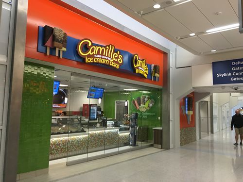 Camille's Ice Cream Bars Lands In DFW Airport