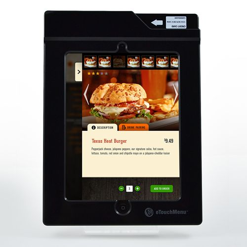 Fast casual pioneer adopts eTouchMenu digital technology