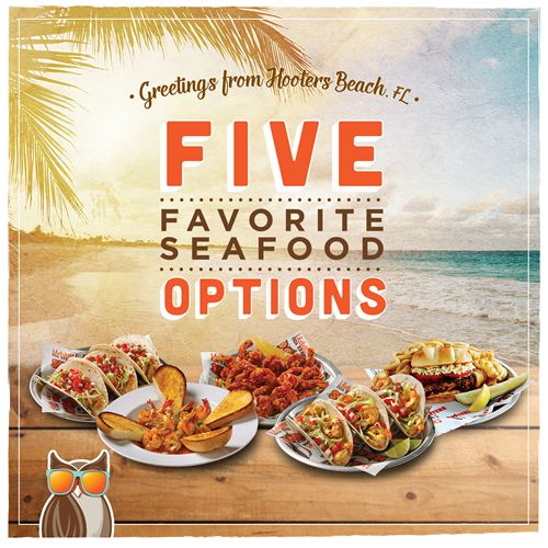 Hooters Brings the Beach to You with Five Seafood Options Under $10