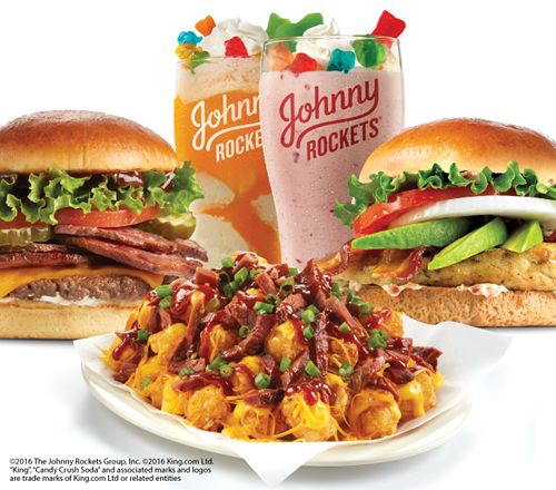 It's Summertime at Johnny Rockets