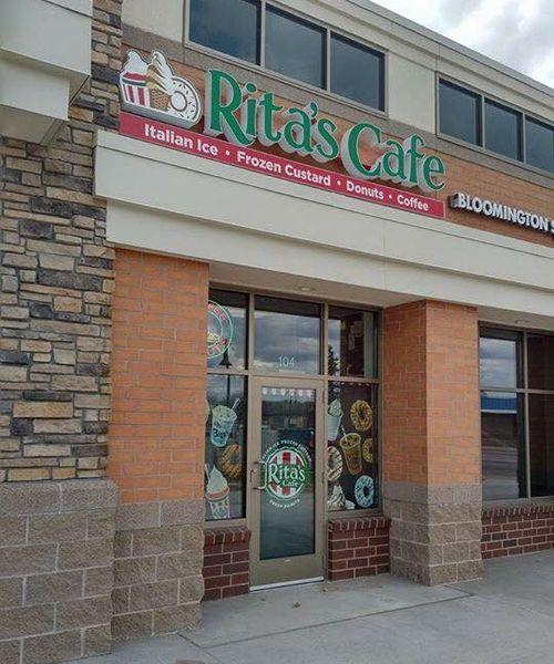 Rita's Italian Ice Opens Rita's Cafe in Minnesota